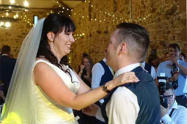 Bridal Dance at Three Hills Barn, Torpenhow.