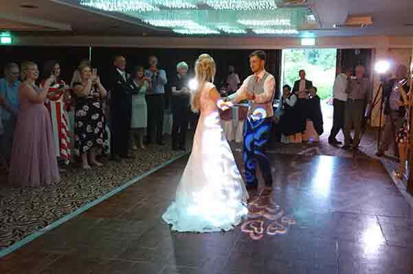 First dance at Armathwaite Hall Hotel, Keswick