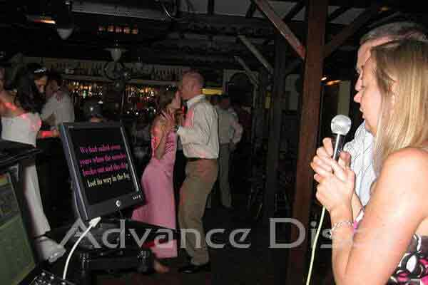 Karaoke in Ramblers Bar, Glenridding