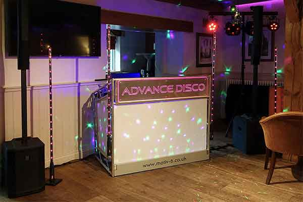 Advance Disco in the Ramblers Bar Sept 2019