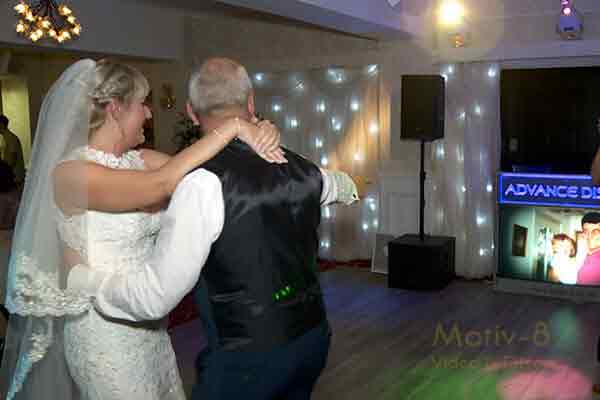 Father & Daughter dance, Hunday Manor Hotel.