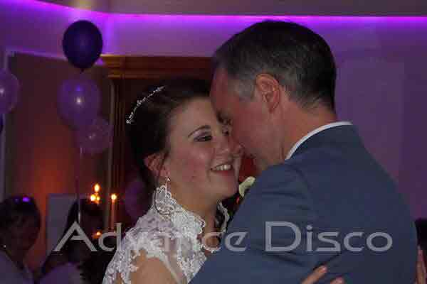 First dance at Wordsworth Hotel, Grasmere.